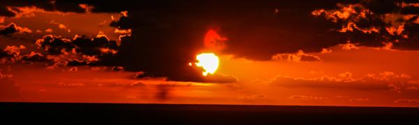Il sole che porta calore e vita