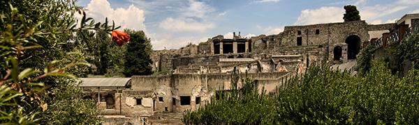 2014 agosto - Pompei: veduta versante sud